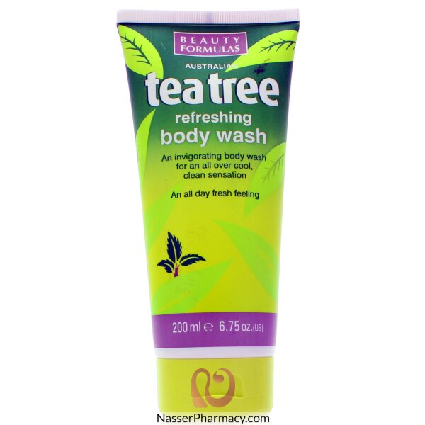 Beauty Formulas Tea Tree Refreshing Body Wash - 200ml
