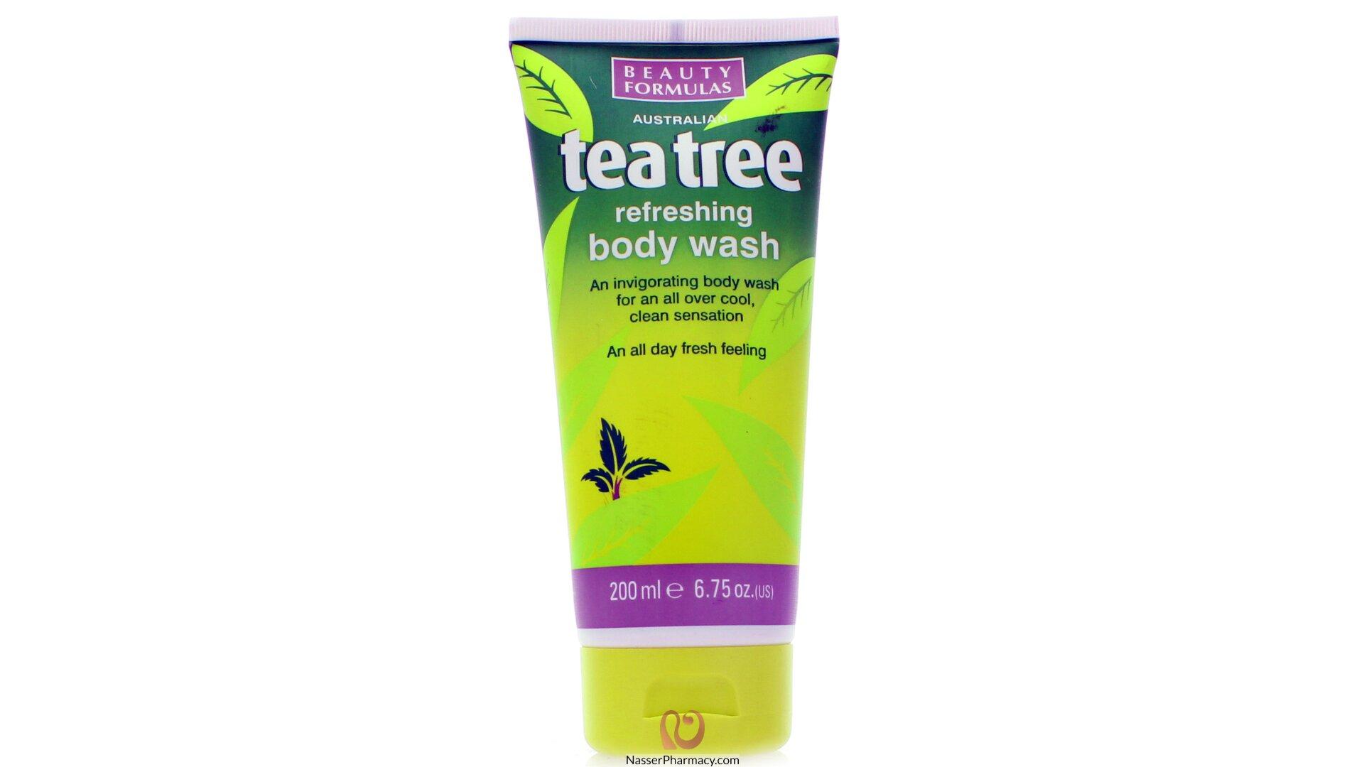 Velvy Tea Tree Oil Shower Gel Calendula Chamomile Romance Dream Essential Minyak Sari Reo 08 Beauty Formulas Refreshing Body Wash 200ml
