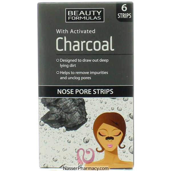 Bf Charcoal Nose Pore Strips 6's-88591