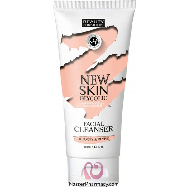Bf New Skin Glycolic Facial Cleanser 150ml