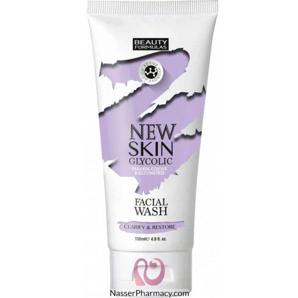 Bf New Skin Glycolic Facial Wash 150ml