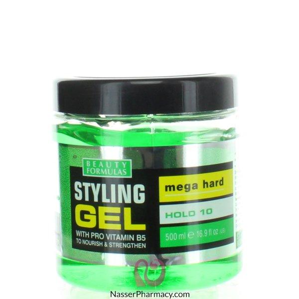 Bf Sty/gel Mega Hard 500ml (green)+pro Vitamin B5-81008