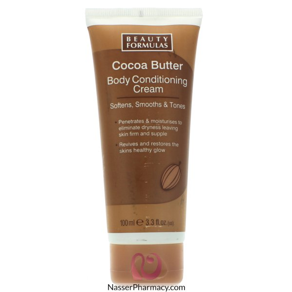 Beauty Formulas Cocoa Butter Body Conditioning Cream 100ml