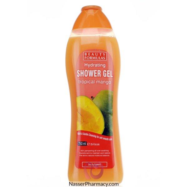 Beauty Formulas Hydrating Shower Gel Tropical Mango 750ml-88482