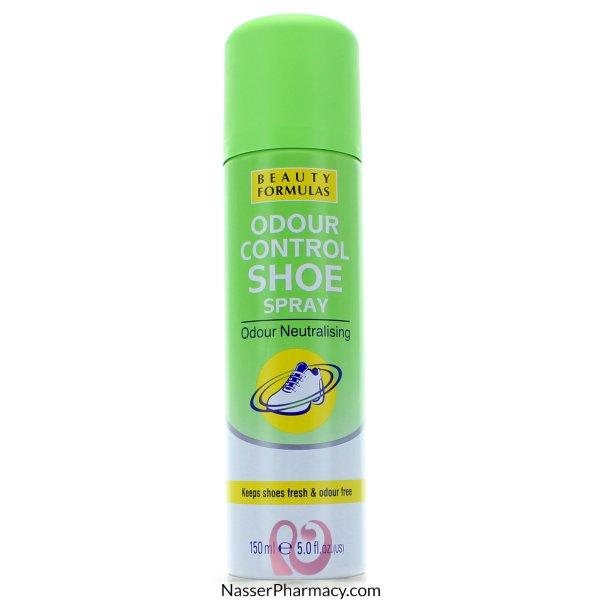 Beauty Formulas Odour Control Shoe Spray - 150ml