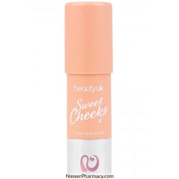 بيوتي يو كيه أحمر الخدود - No.1 Peachy Cream-be2172/1