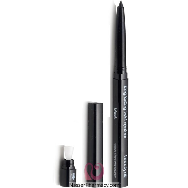 بيوتي يو كيه Beauty Uk  قلم تحديد العيون تويست - لون أسود