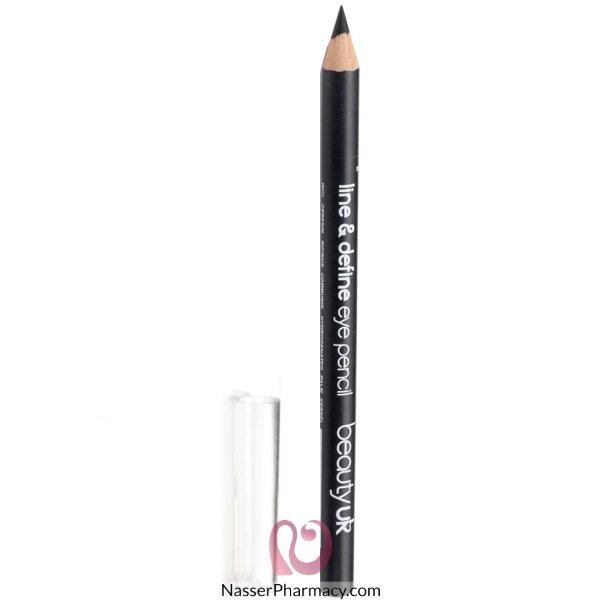 بيوتي يو كيه Beauty Uk قلم محدد عيون - لون رمادي داكن