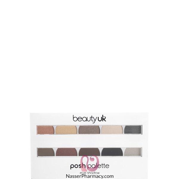 بيوتي يو كيه (posh Palette) ظلال للجفون -large No.2 Masq-be2146/2