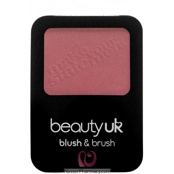 Beauty Uk Blush & Brush -rustic Peach