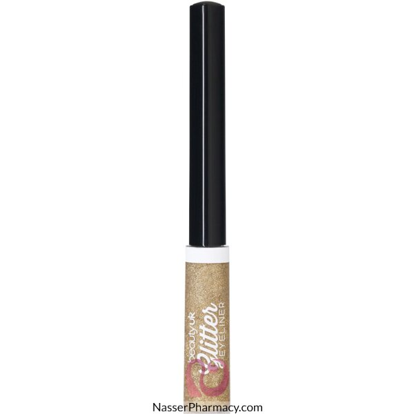 Beauty Uk Glitter Eyeliner -no.2 Gold-be2166/2