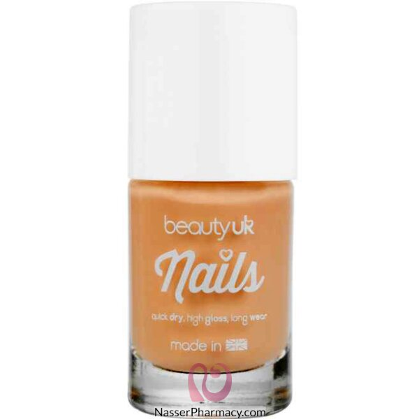 Beauty Uk Nail Polish No.03-lets Hit The Peach
