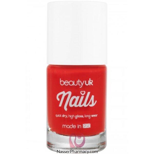 Beauty Uk Nail Polish -no.15-coral Burst