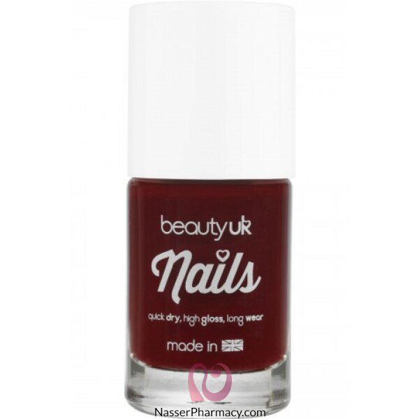 Beauty Uk Nail Polish No.21-rouge Rendezvous