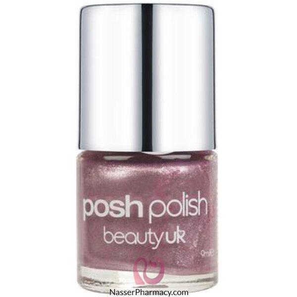 Beauty Uk Posh Nail Polish -amethyst-g/stone Coll