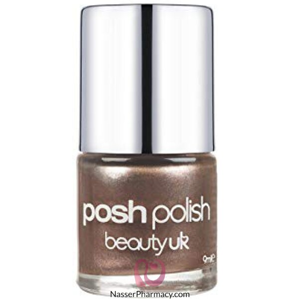 Beauty Uk Posh Nail Polish  - Bronze Foil