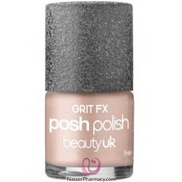 Beauty Uk Posh Nail Polish-grit Fx-kensington(nude