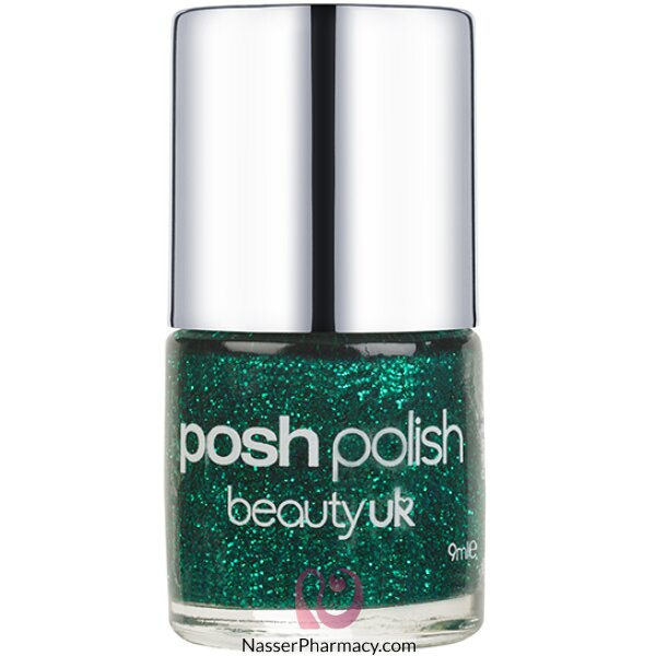 Beauty /uk Posh Nail Polish - Mermaid (green Gl)-be2128/13