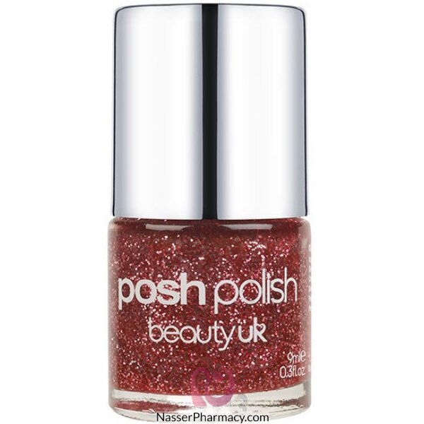 Beauty Uk Posh Polish - Cosmic Candy (pink Gl)-be2128/9