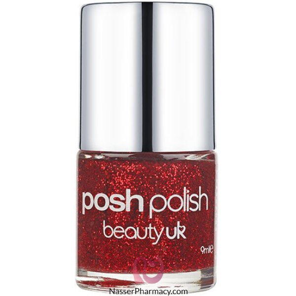 Beauty Uk Posh Polish - Dorothy (red Gl)-be2128/10