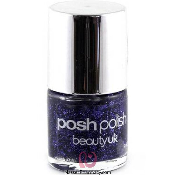 Beauty Uk Posh Polish - Funky Diva (purple Gl)-be2128/15