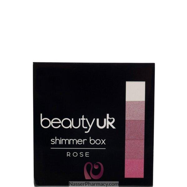 Beauty Uk Shimmer Box- No.2 Rose-be2161/2