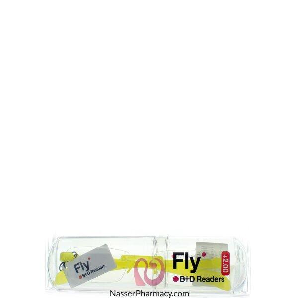B+d Fly Reader Yellow-´+2,00