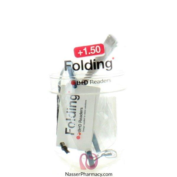 B+d Folding Reader Mat Lblue/gr-´+1,50-2244-56
