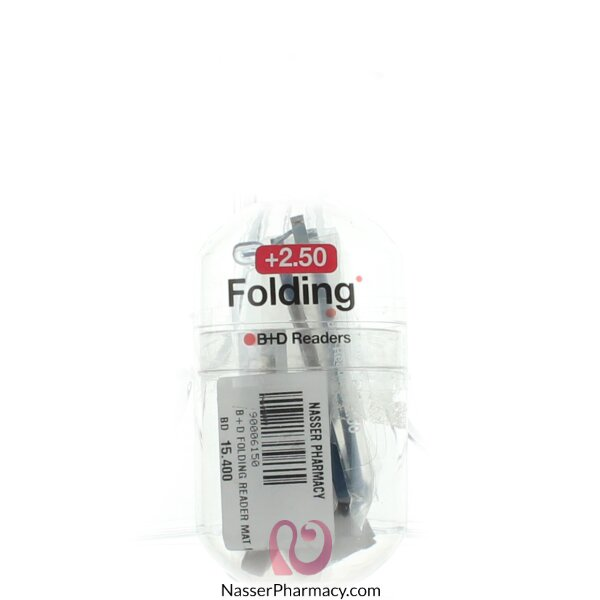 B+d Folding Reader Mat Lblue/gr-´+2,50