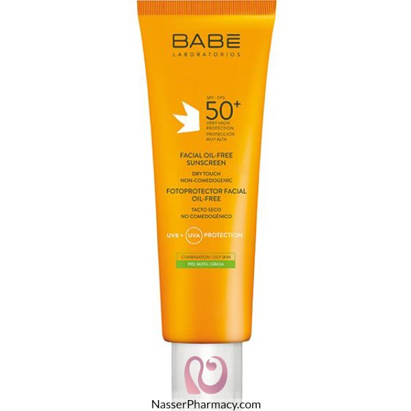 Babe Facial O-free Sunscrn Cr 50+