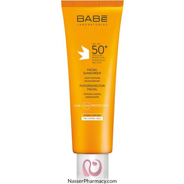 Babe Facial Sunscreen Spf 50+ 50 Ml