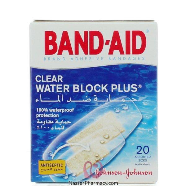 جونسون اند جونسون لاصقة طبية للجروح عازل ضد الماء - 20 قطعة