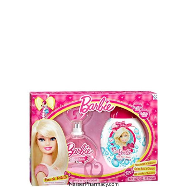 Barbie Eau De Toilette 100ml+ Shower Gel 300ml