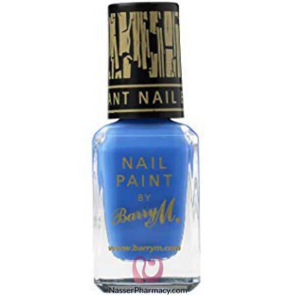 طلاء أظافر Barry M  لون أزرق -f-np315