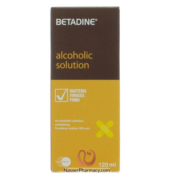 Betadine Alcoholic Sol 120 Ml