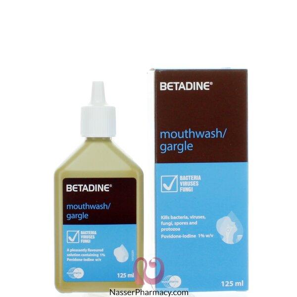 Betadine Gargle & Mouthwash 125ml