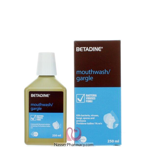 Betadine Gargle & Mouthwash 250ml