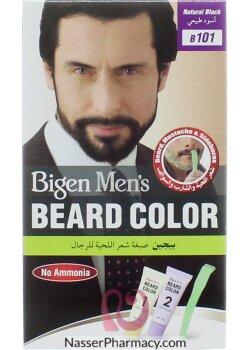 تسوق أونلاين بيجين Bigen صبغة شعر اللحية للرجال أسود طبيعي من صيدليات ناصر البحرين