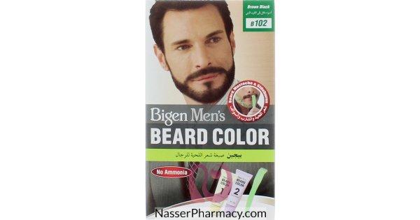 Buy BIGEN MEN\'S BEARD COLOR B.BLACK From Nasser pharmacy in Bahrain
