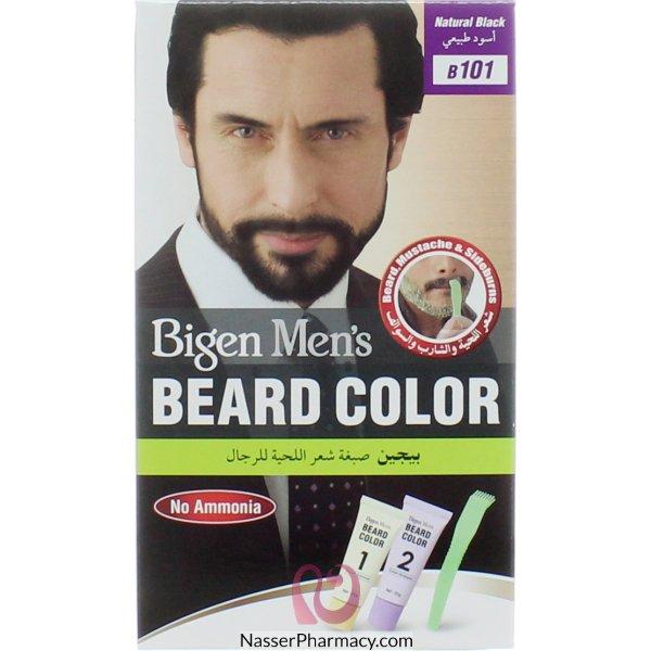 Bigen Men's Beard Color N.black