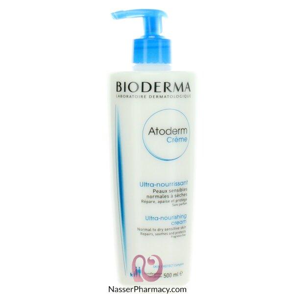بيوديرما  Atoderm Crème -bioderma- كريم ترطيب 500 مل