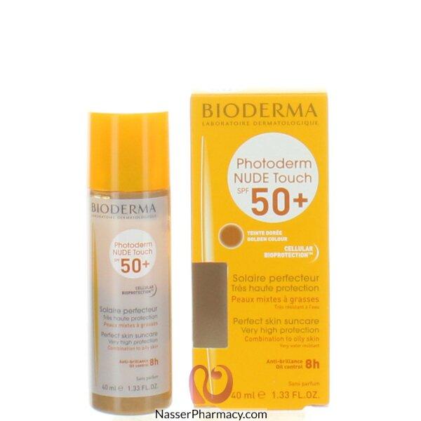 بيوديرما Bioderma Photoderm Nude Touch  بمعامل حماية من الشمس  50- 40  مل