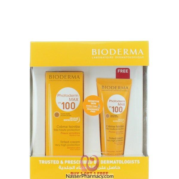 Bderma Phtoderm Max Tint Spf100 Crm Doree 1+1 Free
