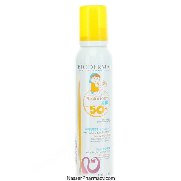 Bioderma  Foam Photoderm Kid Mousse  Spf 50 150 Ml