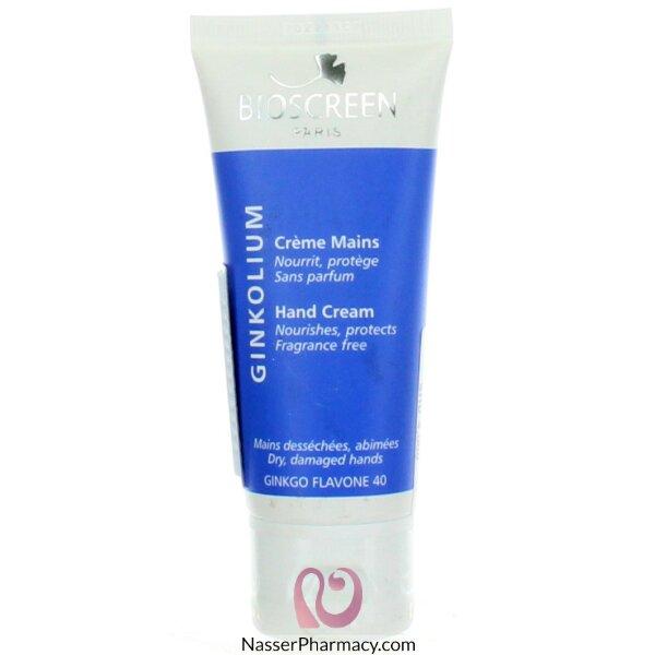 Bioscreen Ginkolium Hand Cream 50 Ml