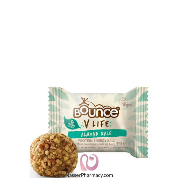 Bounce V Life Almond Kale Vegan 40g