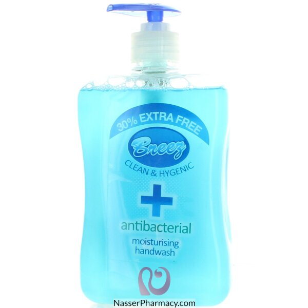 Antibacterial Breez Handwash 650ml