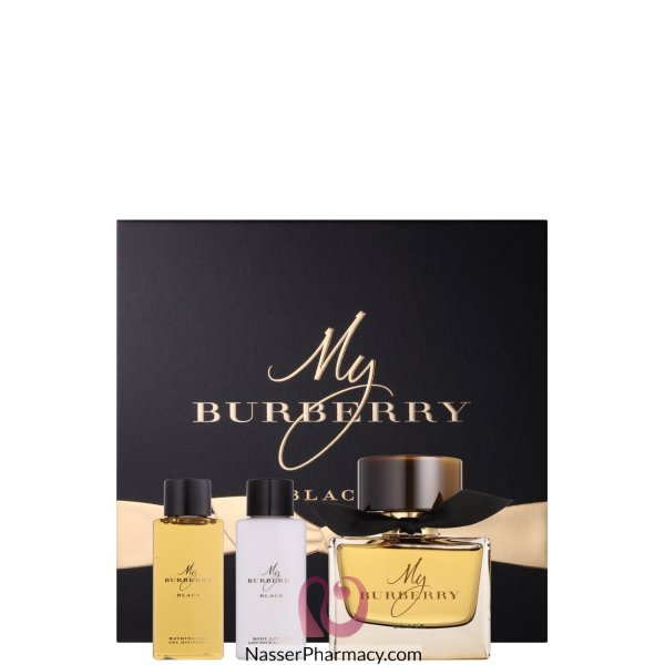 Burberry My Bur Black Fest Edp 90ml+bl75ml+bg75ml