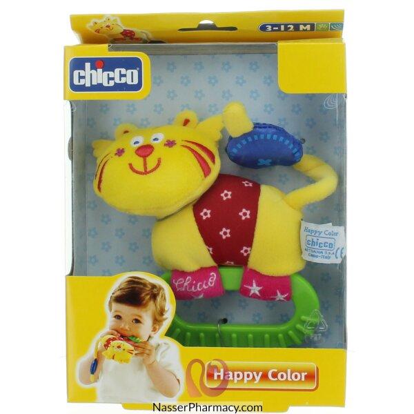 شيكو Chicco خشخيشة على شكل قطة
