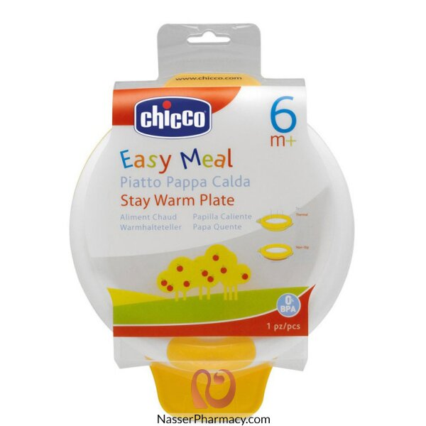 Chicco Duckling Stay Warm Plate 6m+